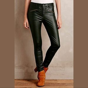 Pilcro and the Leatherpress Faux Leather Pants.